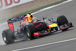 19.04.2014, International Circuit, Shanghai, CHN, FIA, Formel 1, Grand Prix von China, Qualifying Tag, im Bild Daniel Ricciardo (AUS) Red Bull Racing RB10. // during the Qualifyingday of Chinese Formula One Grand Prix at the International Circuit in Shanghai, China on 2014/04/19. EXPA Pictures © 2014, PhotoCredit: EXPA/ Sutton Images/ Mina<br /> <br /> *****ATTENTION - for AUT, SLO, CRO, SRB, BIH, MAZ only*****