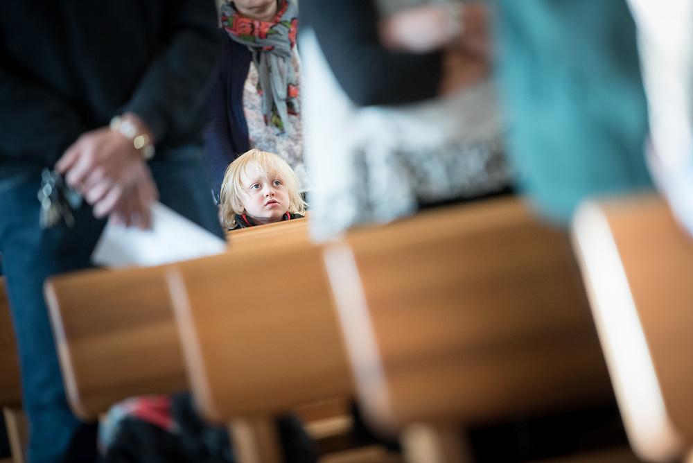 22 Oktober 2017, Brännkyrka, Stockholm: Visitationshögmässa firas i Brännkyrka kyrka, efter att Stockholms biskop Eva Brunne besökt Brännkyrka församling torsdag-söndag, 19-22 oktober 2017.