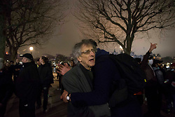 © Licensed to London News Pictures.01/01/2021, London, UK. Piers Corbyn is seen at South Bank in central London, while others drinking in the streets as three quarters of England plunged into Tier 4 last night. This New Year's Eve Londoners need to stay at home according to Tier 4 guidelines. Photo credit: Marcin Nowak/LNP