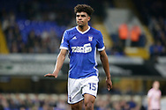 Ipswich Town midfielder Tom Aeyemi (15) during the EFL Sky Bet Championship match between Ipswich Town and Sunderland at Portman Road, Ipswich, England on 26 September 2017. Photo by Phil Chaplin.