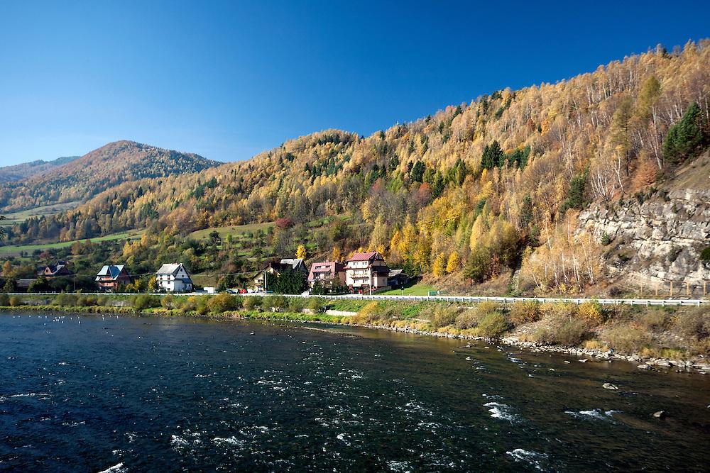 Dunajec w okolicach Krościenka