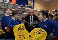 John Swinney celebrates Book Week Scotland | Edinburgh | 29 November 2017