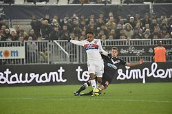 January 28, 2018 - Bordeaux, France - Nicolas De Preville (gir) vs Kenny Tete  (Credit Image: © Panoramic via ZUMA Press)