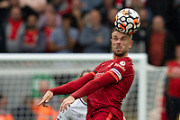 zFootball - 2021 / 2022 Premier League - Liverpool vs Burnley - Anfield - Saturday 21st August 2021<br /> <br /> <br /> <br /> <br /> Liverpool's Jordan Henderson in action during todays match