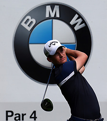 May 25, 2017 - Virginia Water, United Kingdom - Thomas Aiken,Ricardo Gouveia,Chris Paisley during 1st Round for the 2017 BMW PGA Championship on the west Course at Wentworth on May 25, 2017 in Virginia Water,England  (Credit Image: © Kieran Galvin/NurPhoto via ZUMA Press)