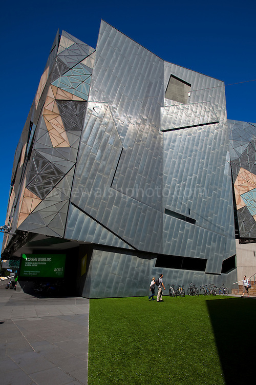 Australian Centre for the Moving Image, Federation Square, Melbourne Editorial use only.