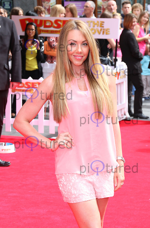Michelle Heaton, Pudsey The Dog: The Movie - World Film Premiere, Vue West End Leicester Square, London UK, 13 July 2014, Photo by Richard Goldschmidt