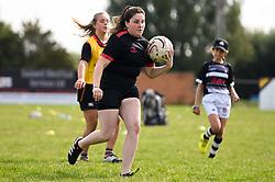 Exeter Chiefs Girls Rugby Camp - Mandatory by-line: Dougie Allward/JMP - 30/08/2019 - SPORT - Bridgewater - Exeter, England<br />  - Exeter Chiefs Girls Rugby Camp