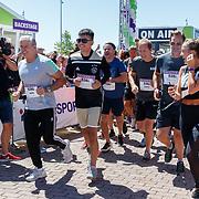 NLD/Amsterdam/20180701 - Evers staat op Run 2018, start
