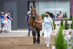 Logutenkova Inna, UKR, Fleraro, 170<br /> Olympic Games Tokyo 2021<br /> © Hippo Foto - Dirk Caremans<br /> 23/07/2021