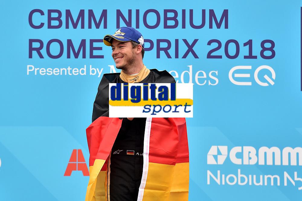 Andre Lotterer Techeetah third Formula E prix Roma 2018<br /> Roma 14- 04-2018 Eur<br /> Roma E  Prix 2018 / Formula E Championship<br /> Foto Antonietta Baldassarre Insidefoto