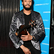Jamal Hope attend Awareness gala hosted by the Health Committee with live music and poetry performances at City Hall at The Queen's Walk, London, UK. 18 March 2019.
