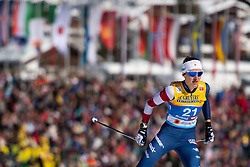 February 21, 2019 - Seefeld In Tirol, AUSTRIA - 190221 Sophie Caldwell of USA competes in women's cross-country skiing sprint qualification during the FIS Nordic World Ski Championships on February 21, 2019 in Seefeld in Tirol..Photo: Joel Marklund / BILDBYRN / kod JM / 87879 (Credit Image: © Joel Marklund/Bildbyran via ZUMA Press)