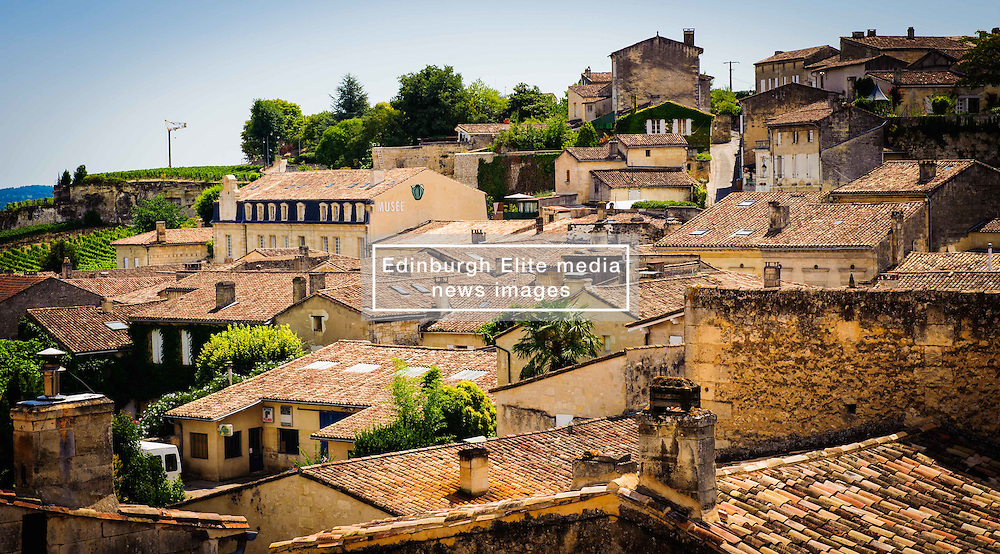 Looking a cross the rooftops in Saint Emilion, France<br /> <br /> (c) Andrew Wilson | Edinburgh Elite media