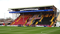 A general view of Sincil Bank, home of Lincoln City FC<br /> <br /> Photographer Andrew Vaughan/CameraSport<br /> <br /> The EFL Sky Bet League Two - Lincoln City v Northampton Town - Saturday 9th February 2019 - Sincil Bank - Lincoln<br /> <br /> World Copyright © 2019 CameraSport. All rights reserved. 43 Linden Ave. Countesthorpe. Leicester. England. LE8 5PG - Tel: +44 (0) 116 277 4147 - admin@camerasport.com - www.camerasport.com