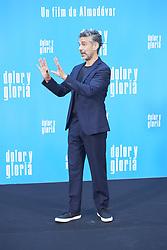 March 12, 2019 - Madrid, Madrid, Spain - Leonoardo Sbaraglia attends 'Dolor y Gloria' Photocall at Villamagna Hotel on March 12, 2019 in Madrid, Spain (Credit Image: © Jack Abuin/ZUMA Wire)