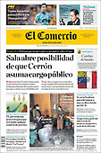 August 14, 2021 - LATIN AMERICA: Front-page: Today's Newspapers In Latin America