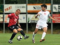 Fotball<br /> Treningskamp<br /> 09.07.2008<br /> Foto: Gepa/Digitalsport<br /> NORWAY ONLY<br /> <br /> Hapoel Tel Aviv vs Hertha BSC Berlin<br /> <br /> Bild zeigt Patrick Ebert (Hertha) und Kende Omri (Tel Aviv)
