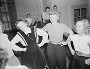 Ackroyd 00009-19. Dance at Timberline Lodge, Mt. Hood. April 13, 1946