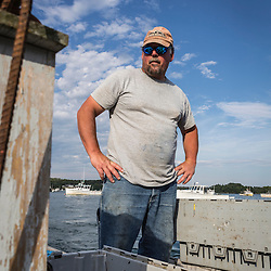 7th generation fisherman Jim Wotton, president of the Friendship Lobster Co-op in Friendship, Maine.
