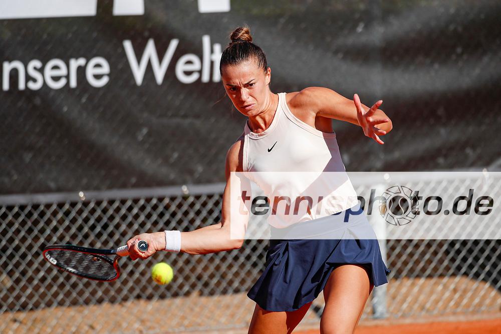 Lina Gjorcheska (MKD) - WTO Wiesbaden Tennis Open - ITF World Tennis Tour 80K, 25.9.2021, Wiesbaden (T2 Sport Health Club), Deutschland, Photo: Mathias Schulz