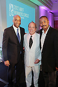 Miami Beach, Florida, NY-June 23: (L-R) Mark Pitts, President, Coffee and Tea, Coca Cola, Brad Siegel, VP, Gmc, and Actor/Director Robert Townsend attends the 2012 American Black Film Festival Winners Circle Awards Presentation held at the Ritz Carlton Hotel on June 23, 2012 in Miami Beach, Florida (Photo by Terrence Jennings)
