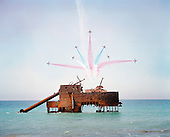Red Arrows Print Auction