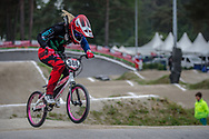 #308 (PETCH Rebecca) NZL at Round 6 of the 2018 UCI BMX Superscross World Cup in Zolder, Belgium