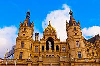 Schloss Schwerin (castle), Schwerin, Mecklenburg-West Pomerania, Germany