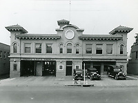 1928 Hollywood Police Station on the west side of Cahuenga Ave., just south of Hollywood Blvd.