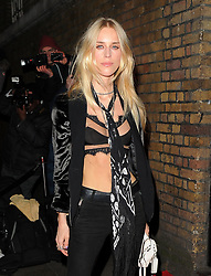 """FILE PHOTO It has today been reported that: """"Victoria Beckham is angry over husband David's growing friendship with wild socialite Lady Mary Charteris."""" <br /> <br /> Cara Delevingne hosts YSL Loves Your Lips - party to celebrate the re-launch of YSL's Luxurious Mascara at The Boiler House, Old Truman Brewery. London. UK<br /> <br /> 20 January 2015.<br /> <br /> Please byline: Vantagenews.co.uk"""