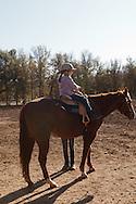 Brenda Morgan operates Pigasus Horse Ranch in Auberry, California.