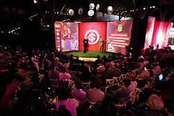 Coletiva de imprensa para apresentar o lançamento do projeto de espetáculos que irá celebrar a abertura do novo Estádio Beira-Rio, no Centro de Eventos Presidente Arthur Dallegrave, localizado no Complexo Beira-Rio. FOTO: Jefferson Bernardes/Agência Preview