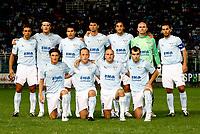 Fotball<br /> Italia<br /> Foto: Inside/Digitalsport<br /> NORWAY ONLY<br /> <br /> Roma 20/8/2006 <br /> Coppa Italia<br /> Lazio v Rende 4-0<br /> <br /> La formazione della Lazio:<br /> Up: Sebastiano Siviglia, Guglielmo Stendardo, Cristian Ledesma, Emilson Cribari, Stefano Mauri, Marco Ballotta, Luciano Zauri<br /> Bottom: Manuel Belleri, Massimo Mutarelli, Roberto Rocchi, Goran Pandev<br /> Lagbilde Lazio