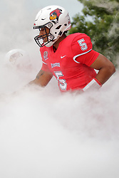 NORMAL, IL - September 08: Bryce Jefferson during 107th Mid-America Classic college football game between the ISU (Illinois State University) Redbirds and the Eastern Illinois Panthers on September 08 2018 at Hancock Stadium in Normal, IL. (Photo by Alan Look)