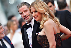 File photo - John Travolta and Kelly Preston attending the Solo: A Star Wars Story screening held at the Palais des Festivals on May 15, 2018 in Cannes, France as part of the 71st annual Cannes Film Festival. Kelly Preston, the actress married to John Travolta, has died after a private battle with breast cancer, aged 57. The actress had been battling against breast cancer for two years, with a family representative confirming news of her passing to People today. Photo by Lionel Hahn/ABACAPRESS.COM
