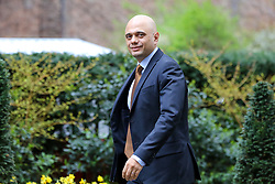 © Licensed to London News Pictures. 19/03/2019. London, UK. Sajid Javid - Home Secretary arrives in Downing Street for the weekly Cabinet meeting. Photo credit: Dinendra Haria/LNP