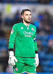 November 18, 2017 - Wycombe, England, United Kingdom - Crawley Town's Glenn Morris during Sky Bet League two match between Wycombe Wanderers against Crawley Town at Adams Park, Wycombe, England on 18 Nov 2017  (Credit Image: © Kieran Galvin/NurPhoto via ZUMA Press)