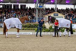 Davis Allen, GBR, Gio, TSF Dalera BB<br /> European Championship Dressage Hagen 2021<br /> © Hippo Foto - Dirk Caremans<br /> 11/09/2021