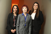 SHOT 12/4/19 11:11:29 AM - McGuane & Hogan, P.C., a Colorado family law firm located in Denver, Co. Includes attorneys Kathleen Ann Hogan, Halleh T. Omidi and Katie P. Ahles. (Photo by Marc Piscotty / © 2019)