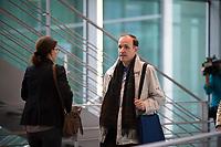 DEU, Deutschland, Germany, Berlin, 27.09.2017: Gottfried Curio (MdB, AfD)  auf dem Weg zur Fraktionssitzung der AfD-Bundestagsfraktion im Deutschen Bundestag.