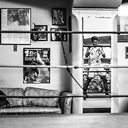 George Rico works out at the La Habra Boxing Club on November 6, 2015, in La Habra, California.<br /> <br /> Photo by Yong Teck Lim/Sports Shooter Academy