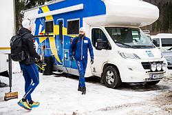 January 2, 2018 - Oberstdorf, GERMANY - 180102 Rikard Grip, coach of Sweden, ahead of a training session during Tour de Ski on January 2, 2018 in Oberstdorf..Photo: Jon Olav Nesvold / BILDBYRN / kod JE / 160117 (Credit Image: © Jon Olav Nesvold/Bildbyran via ZUMA Wire)