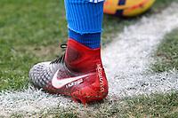 Getafe CF's Faycal Fajr shoes during La Liga match. December 09,2017. (ALTERPHOTOS/Acero)
