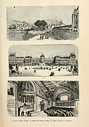 Paris Views and Buildings 1. PONT NEUF, 2. THE TUILERIES, 3. THE SENATE of FRANCE from the book Sights and sensations in Europe : sketches of travel and adventure in England, Ireland, France, Spain, Portugal, Germany, Switzerland, Italy, Austria, Poland, Hungary, Holland, and Belgium : with an account of the places and persons prominent in the Franco-German war by Browne, Junius Henri, 1833-1902 Published by Hartford, Conn. : American Pub. Co. ; San Francisco, in 1871