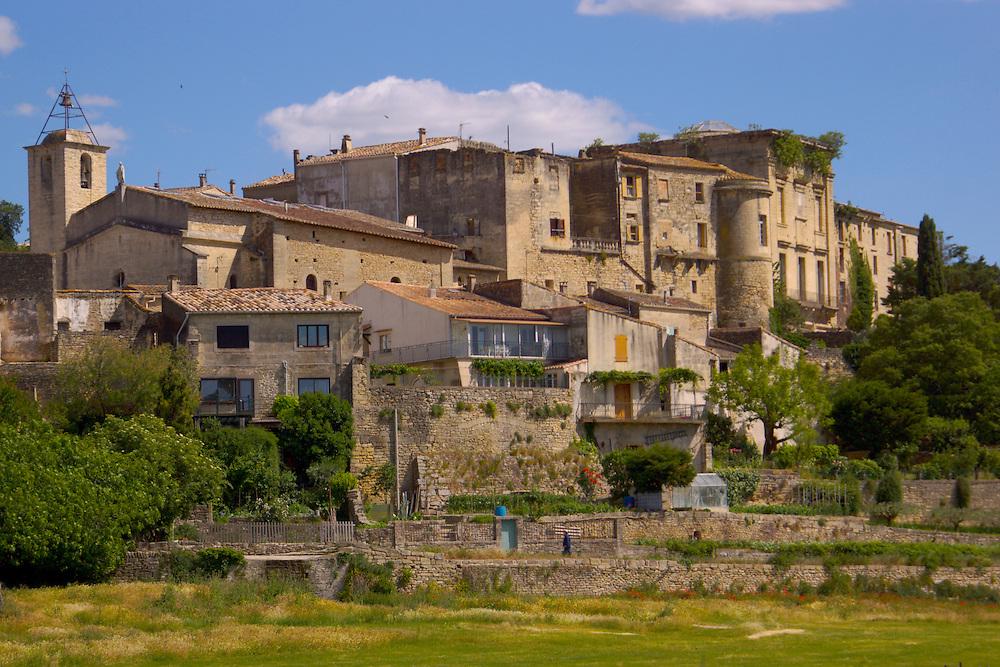 Southern France, Aubai Medieval Village,