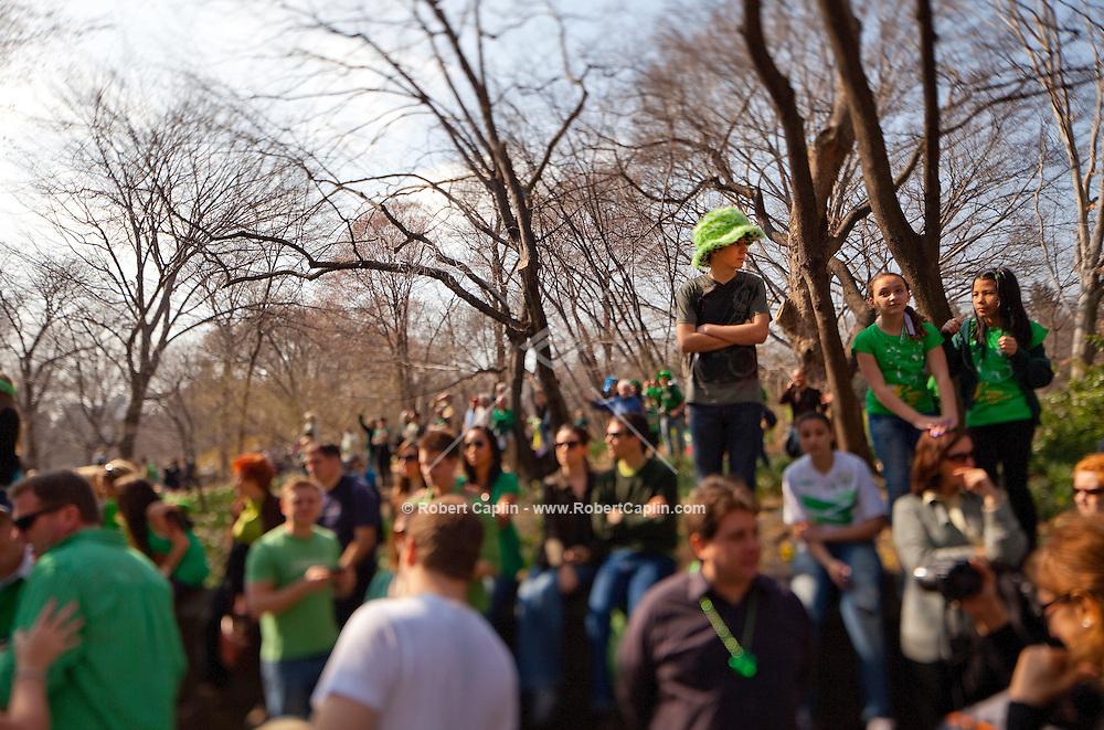Saint Patricks Day 2012 in New York...Photo by Robert Caplin..