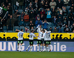 27.11.2011, UPC Arena, Graz, AUT, 1. FBL, SK Puntigamer Sturm Graz vs FC Trenkwalder Admira, im Bild Jubel bei Sturm nach dem 1:0, EXPA Pictures © 2011, PhotoCredit: EXPA/ Erwin Scheriau