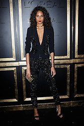 Cindy Bruna attending the L'Oreal Gold Obsession Party as part of Paris Fashion Week Ready to Wear Spring/Summer 2017 in Paris, France on October 02, 2016. Photo by Aurore Marechal/ABACAPRESS.COM