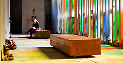 11.10.2010, Gedenkstätte, Kaprun, AUT, 10 Jahre Kaprun Katastrophe, Features, am 11.11. 2010 jährt sich die Brandkatastrophe von Kaprun das 10. Mal. Bei diesem Unglück mussten 155 Menschen ihr Leben lassen, im Bild Innenansicht der Gedenkstätte am Fusse des Kitzsteinhorns in Kaprun, EXPA Pictures © 2010, PhotoCredit: EXPA/ J. Feichter / SPORTIDA PHOTO AGENCY